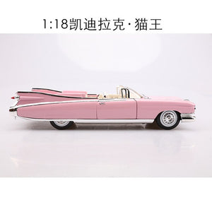 Meritor 1: 18 Model Alloy Car Model Figure 1959 Cadillac Elvis Classic Car Model Collection