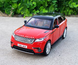 1:32 Scale Diecast Alloy Metal Luxury SUV Car Model For Range Rover Velar Collection Off-road Vehicle Model Sound&Light Toys Car