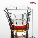 Brand Wine Glass Lead-free Heat Resistant Transparent Crystal Beer Whiskey Brandy Vodka Cup Multi Pattern Drinkware Bar Gifts
