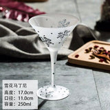 Luxury Moomin Coffee Whiskey Shot Wine Glass Cup Beer Drinking Champagne Wedding Glasses Tea Cup Wine Verres Pour Boire JJ60BLB