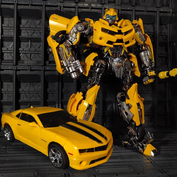 Transformation Robot MasterPiece Oversized Version WJ MPM-03 MPM03 Bumblebees film Alloy With Big War Hammer Action Figure Toys