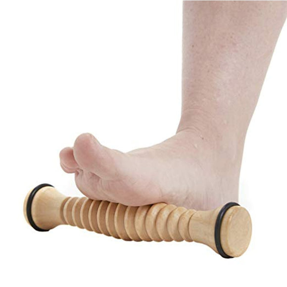 Ballet Foot Massager Instep Shaper Foot Roller Wooden Foot Roller Relaxation Pressure Reducer Solid