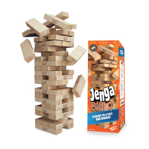 Jenga  Hi Quality Beech Wooden Toys Tower Wood Building Blocks Jenga Domino Game  Quarantine fun for adults at home