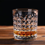 Originality Relief Crystal Whiskey Glass Cup Wine Beer Water Milk Juice Cup Personality Home Party Hotel Wedding Gift Drinkware