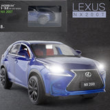 1:32 Lexus NX200t Car Model Alloy Car Die Cast Model Toy Car Kid Toy BirthdayChristmas Gifts Free Shipping