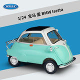 WELLY 1:24 BMW Isetta off-road vehicle SUV sports car simulation alloy car model crafts decoration collection toy tools gift