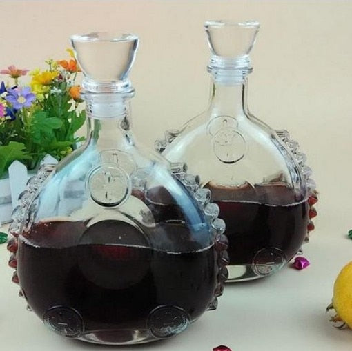 1PC Glass Bottles Red Wine Whiskey Decanter Set Magic Decanter Wine Glass Sobering Device Quality Bar Set JR 1089