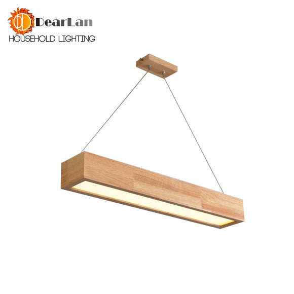 15W/25W/30W LED Wooden Pendant Light With Arcrylic Shade,Modern Style Pendant Lamp For Living Room/Sitting Room/Bedroom(DY-50)