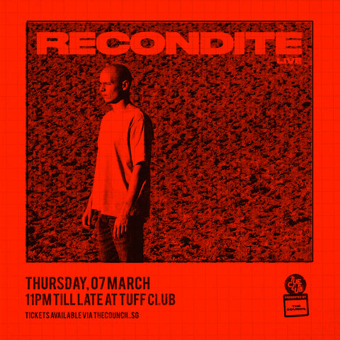 The Council presents Recondite (Live)