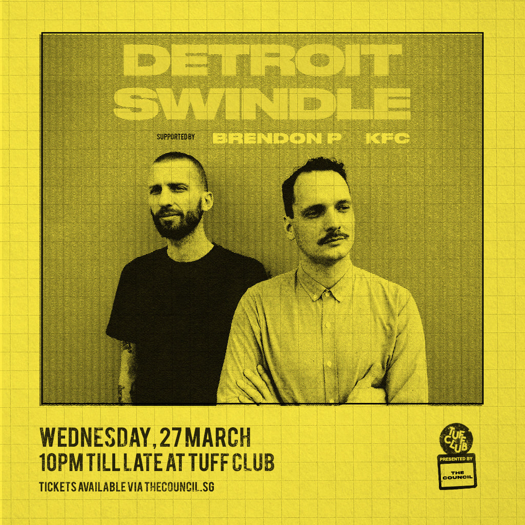 The Council presents Detroit Swindle