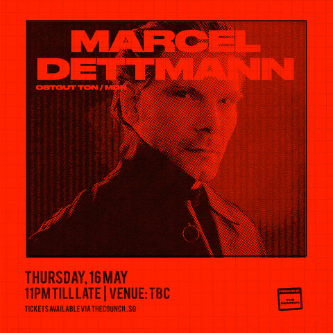 The Council presents Marcel Dettmann