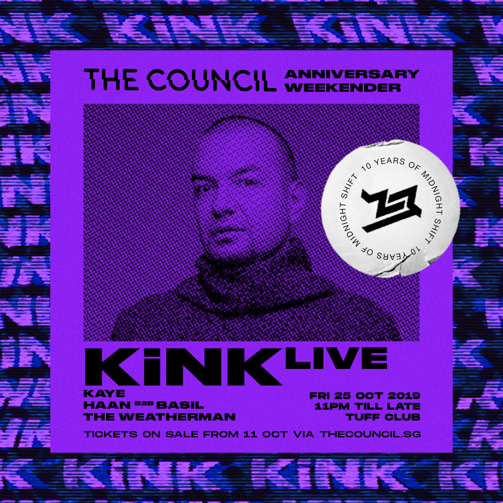 The Council Anniversary Weekender with KiNK