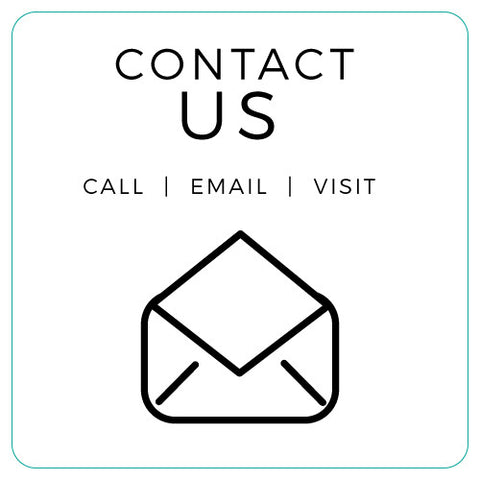 Contact Us with a Call an Email or come visit Mail