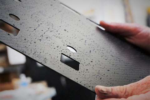 Chemical and Rust Resistant Carbon Fiber Panel