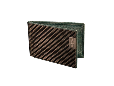 mens carbon fiber business card holder