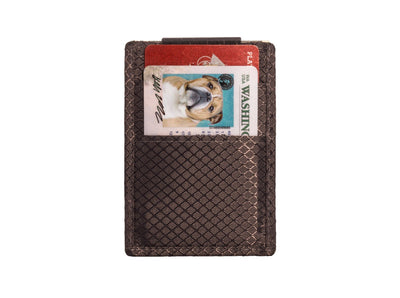 Minimalist Carbon Fiber Money Clip Wallet