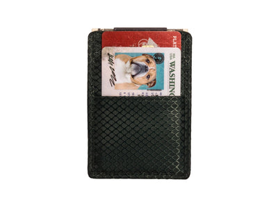 Slim Carbon Fiber Money Clip Wallet
