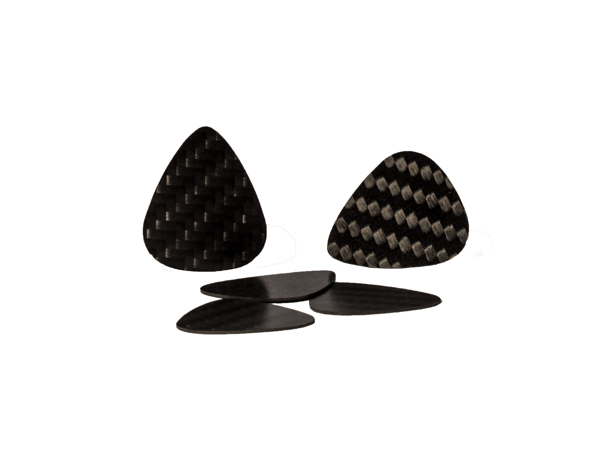 Real Carbon Fiber Guitar Picks