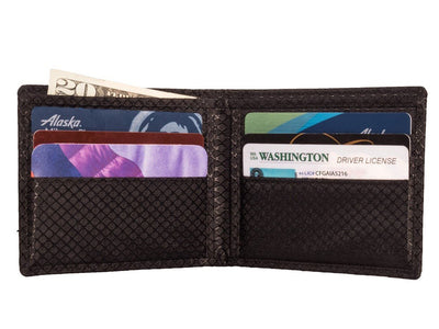 Reflections MAX - Carbon Fiber Bifold Wallet