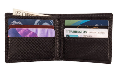 Checkered - MAX Carbon Fiber Bifold Wallet