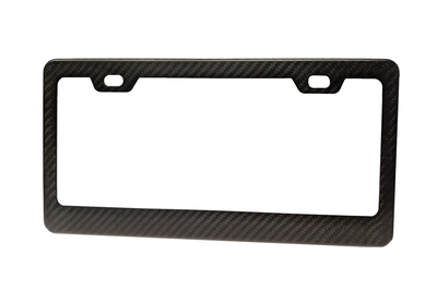 Carbon Fiber License Plate Frames