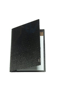 Small Carbon Fiber Portfolio for a Notepad