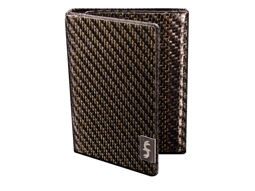 Real Carbon Fiber Trifold Wallet