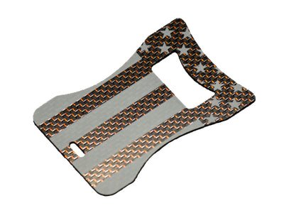 Carbon Fiber USA Credit Card Bottle Opener