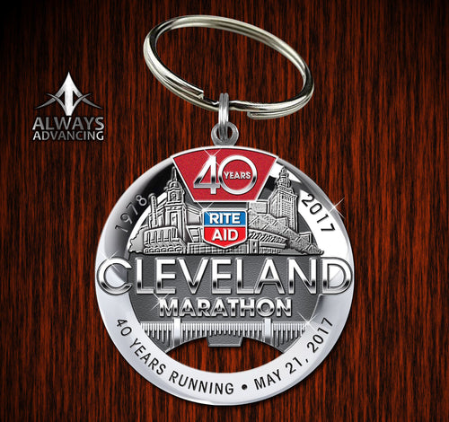 40th Anniversary Key Chain