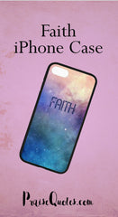 faith, christian phone case