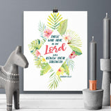 Those Who Hope in the Lord - Isaiah - Printable Wall Art