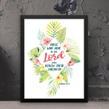 Those Who Hope in the Lord - Isaiah - Framed Print