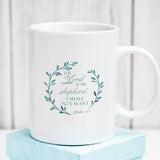The Lord is My Shepherd Psalm 23:1 - White Mug 11 oz or 15 oz