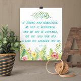 Be Strong and Courageous - Joshua - Printable Wall Art
