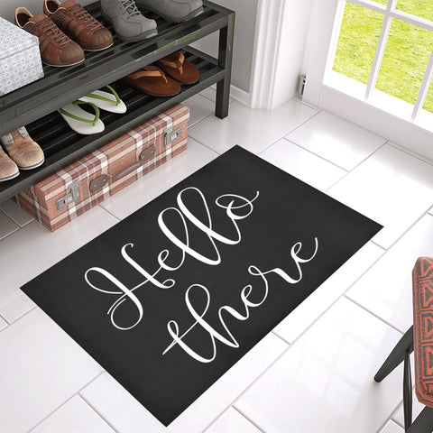 Hello There Welcoming Doormat 30 by 18 inches