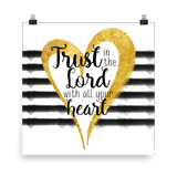 Trust in the Lord - Downloadable Watercolor Print