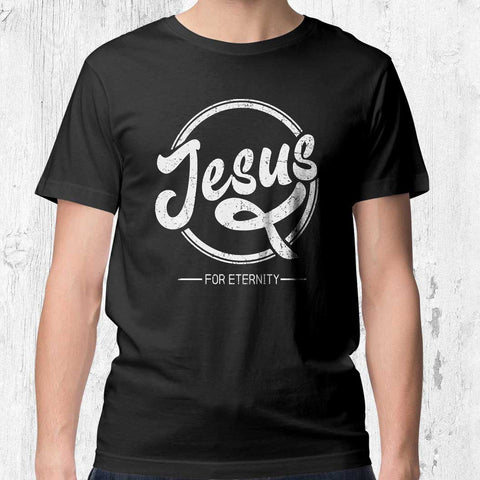 Jesus for Eternity - Men's T-Shirt