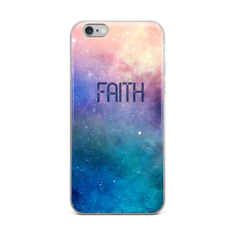 Faith in the Creator of the Universe - iPhone Case