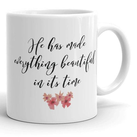 He has Made Everything Beautiful in its Time - Classical White Mug (11 oz or 15 oz)