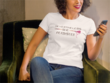 Nevertheless She Persisted Womens T-Shirt