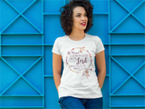 Blessed is She - Womens T-Shirt