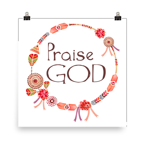 Praise God - Downloadable Art Print