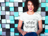 Wildly Blessed - Womens T-Shirt
