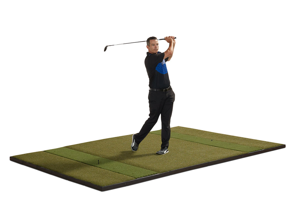10' x 6' Studio Golf Mat - Double Hitting