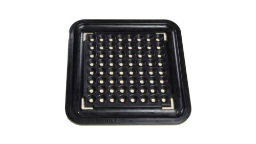140 Pyramid Ball Tray with Gutter