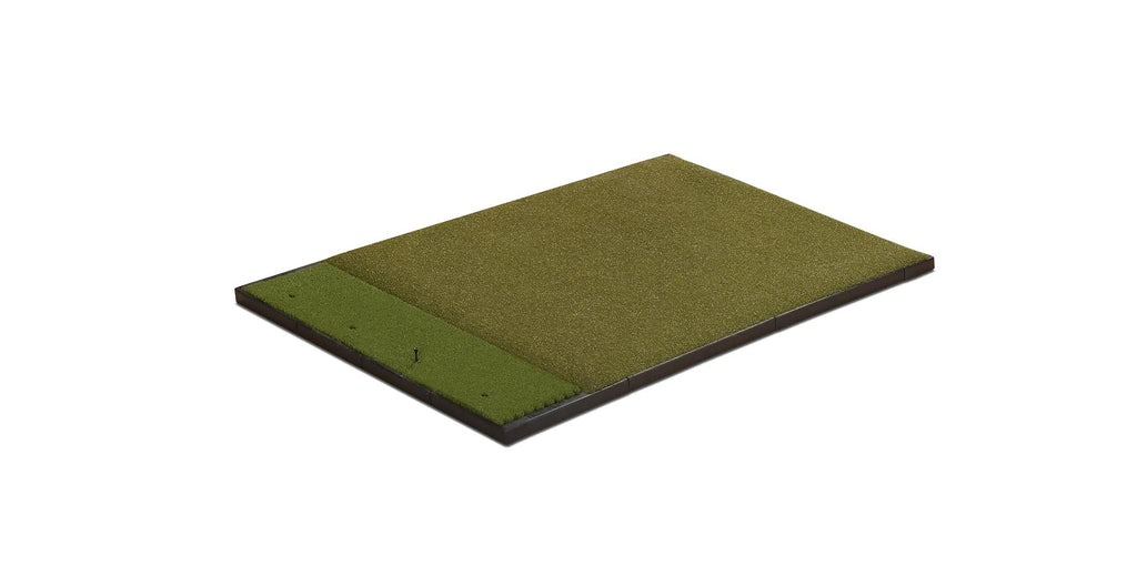 5' x 4' Single Hitting Traditional Mat with Performance Turf & Nylon Grass