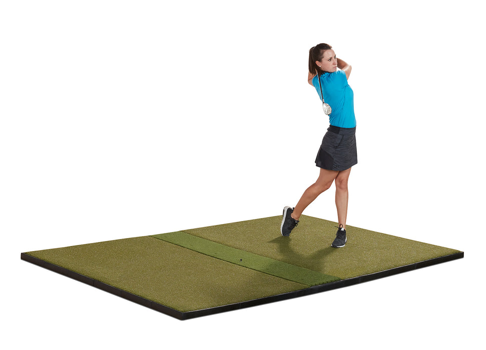 9' x 6' Studio Golf Mat - Center-Hitting