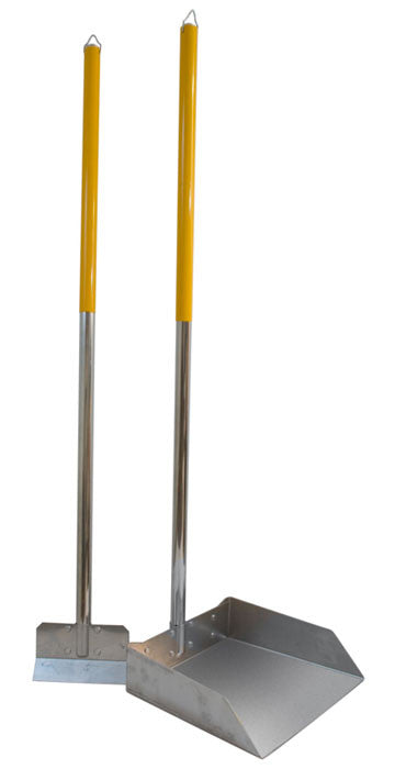 Large Dog Scoop and Spade Set with 3' Alumilite Handle