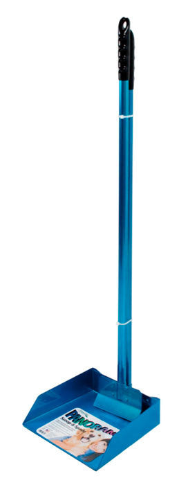 "Blue ""Panorama"" Large Dog Scoop and Spade Set with 3' Aluminum Handle"