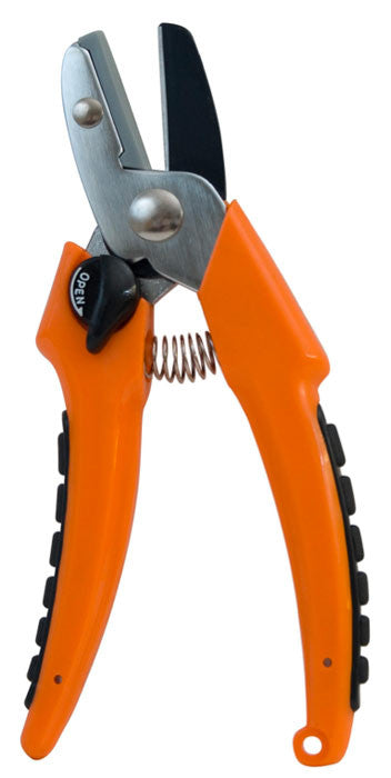 "Deluxe Anvil Pruner with Molded Plastic Handles - 1"" Capacity"
